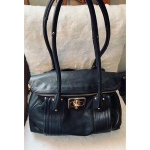 B MAKOWSKY Rockefeller  glove leather bag